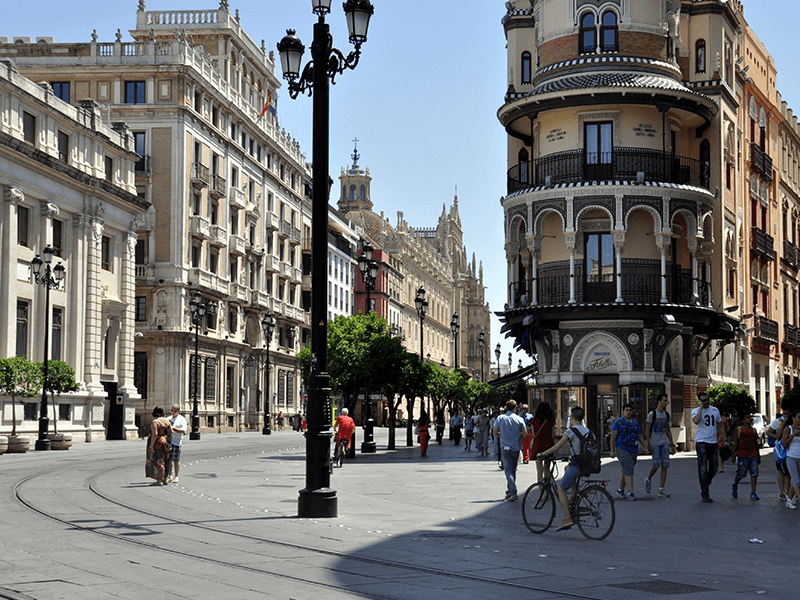 Sevilla centrum