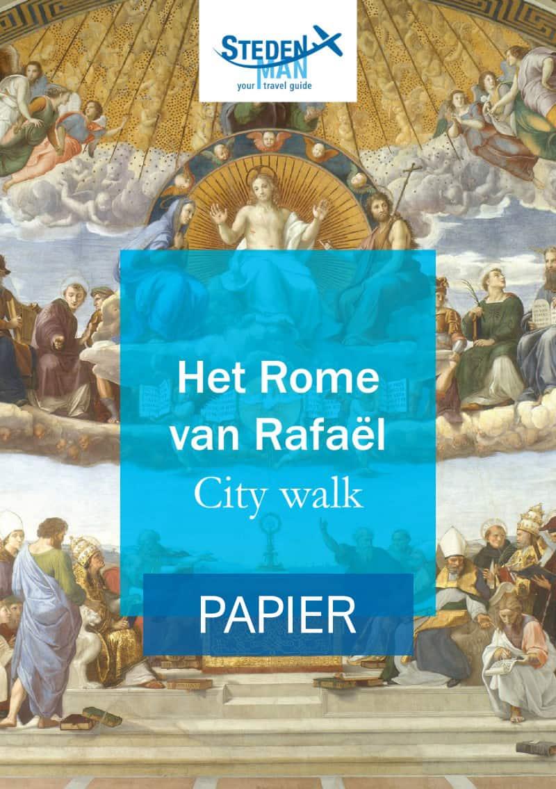 Het Rome van Rafael Cover Papier
