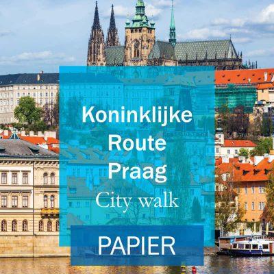 Koninklijke route praag Cover Papier
