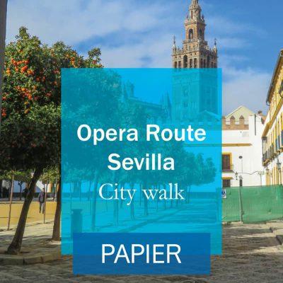 Opera route sevilla Cover Papier